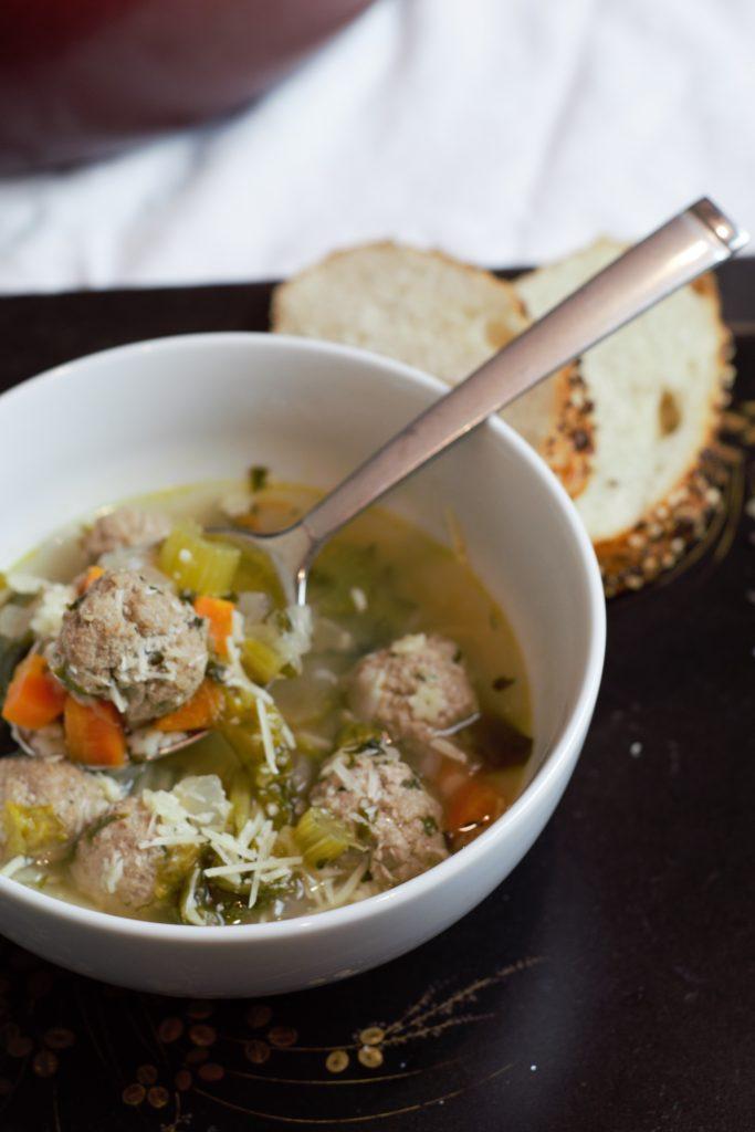 Italian Wedding Soup Recipe Delicious By Design