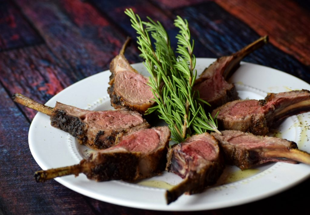 Honey Herb Crusted Rack of Lamb