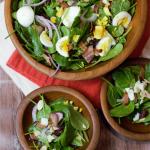 pin salad spinach