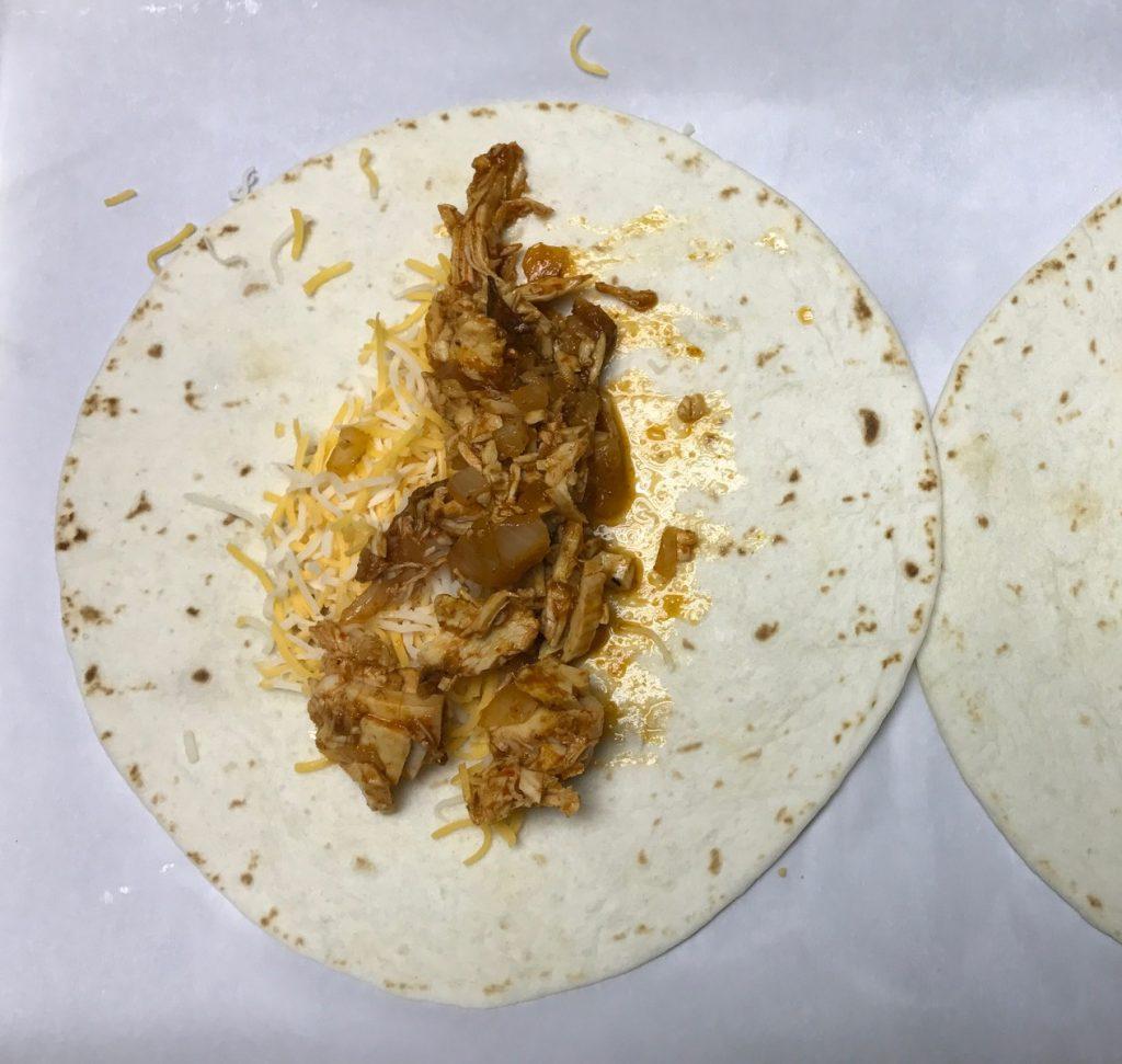 Chicken Enchilada Flautas