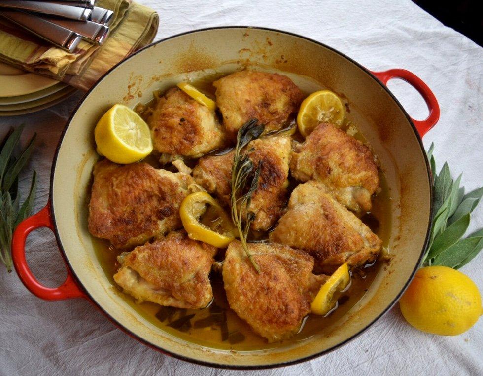 Butter Sage Chicken