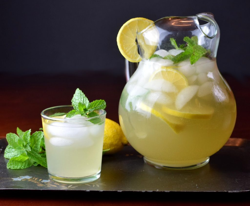 Sparkling Lemon Ginger Punch