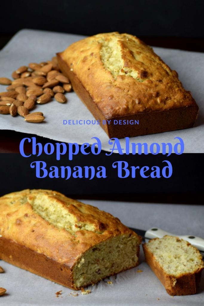 Chopped Almond Banana Bread