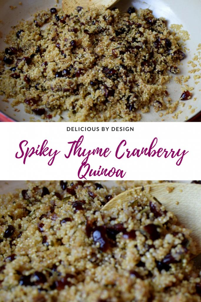 Spiky Thyme cran Quinoa