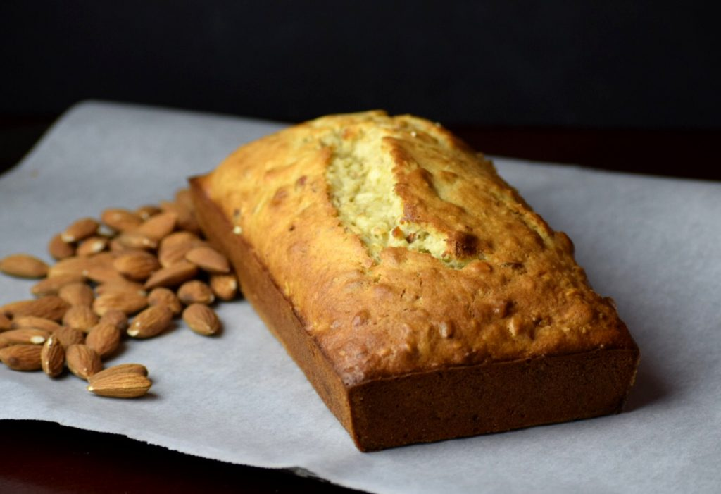Chopped Almond Banana Bread