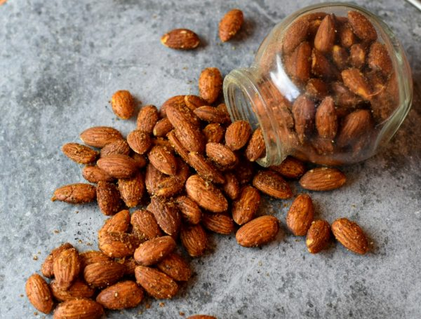 barbecue seasoned roasted almonds