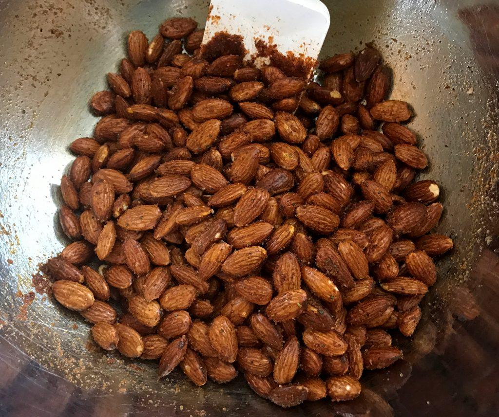 barbecue seasoned roasted almonds