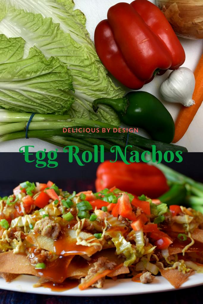 egg roll nachos
