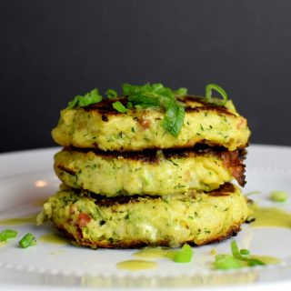Loaded Zucchini Fritters
