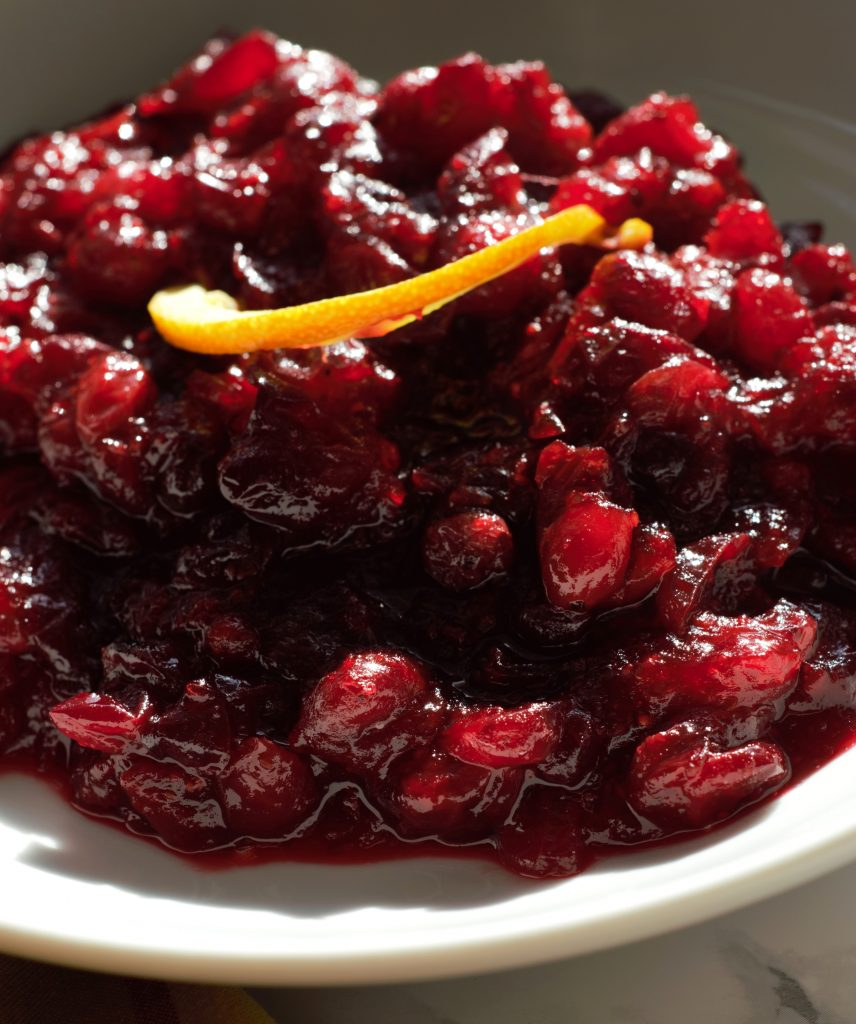 Homemade Cinnamon Orange Cranberry Sauce