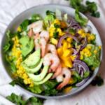 Shrimp Corn Mango Salad Pin