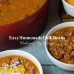 pin image for homemade chili beans